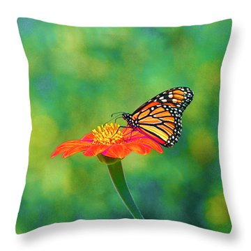 Throw Pillow featuring the photograph Small Wonders by Byron Varvarigos