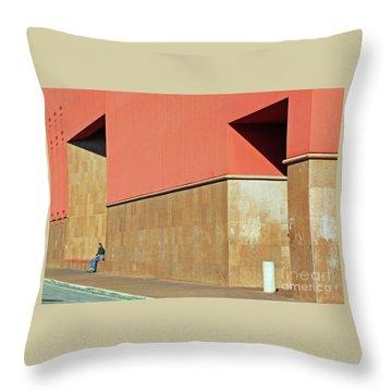 Throw Pillow featuring the photograph Small World by Joe Jake Pratt
