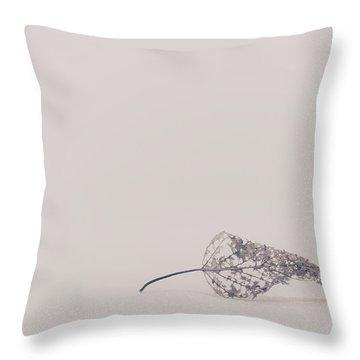Smallest Leaf Throw Pillow