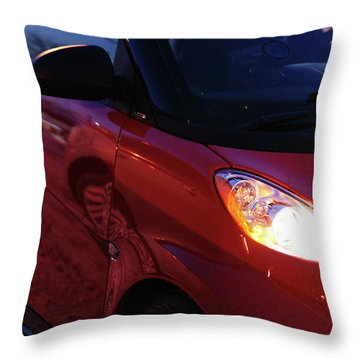 Smart Throw Pillow by Linda Shafer