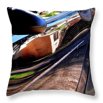 Smart Shed Throw Pillow by Nik Watt