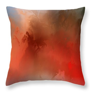 Wicked Worm Throw Pillow