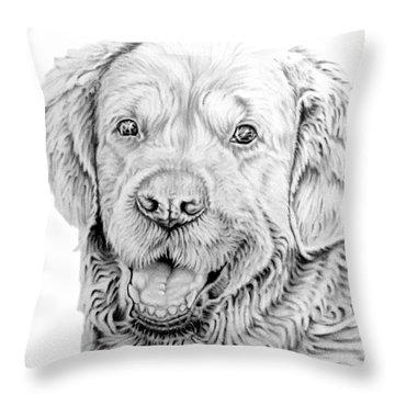 Smiler Throw Pillow