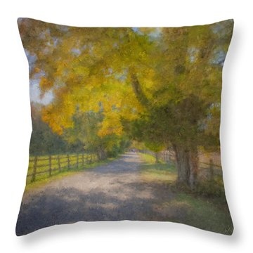Smith Farm October Glory Throw Pillow