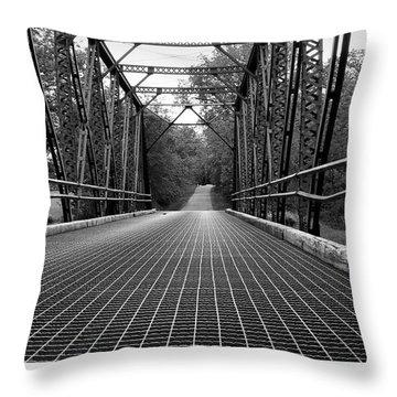 Smith Road Bridge  Throw Pillow
