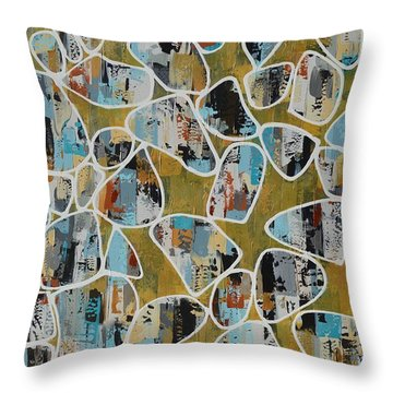 Smithereens Throw Pillow