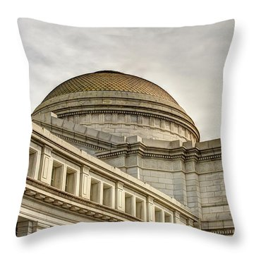 Smithsonial National History Museum Throw Pillow