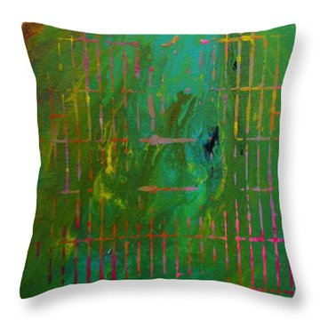 Smog Throw Pillow