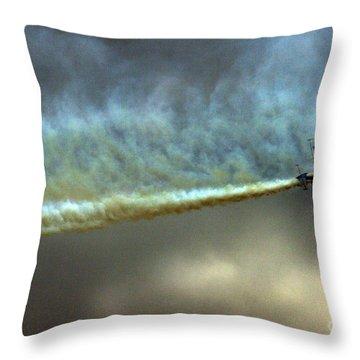 Smoke Maker Throw Pillow