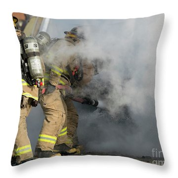 First Responders Throw Pillows