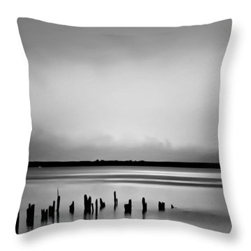 Smoke On The Water Throw Pillow by Wallaroo Images