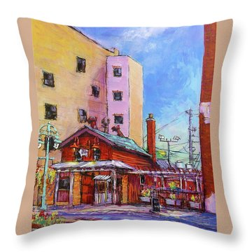 Smoke Shack Throw Pillow