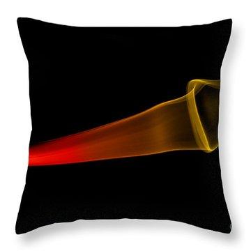 smoke XXX Throw Pillow