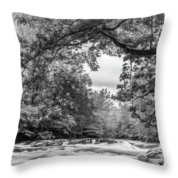 Smokies Throw Pillow