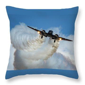 Smokin Throw Pillow