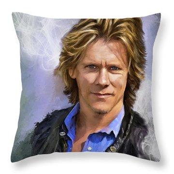 Smoking Hot Bacon Throw Pillow