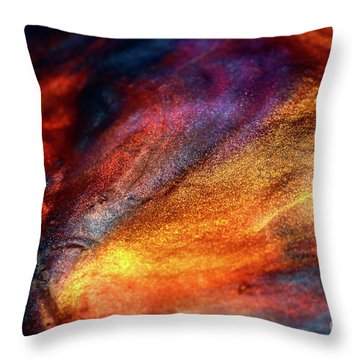 Smooth Colors Throw Pillow