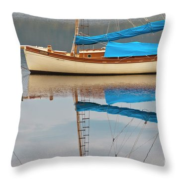 Throw Pillow featuring the photograph Smooth Sailing by Werner Padarin