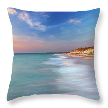 Smooth Waters, Quinns Rocks, Perth Throw Pillow