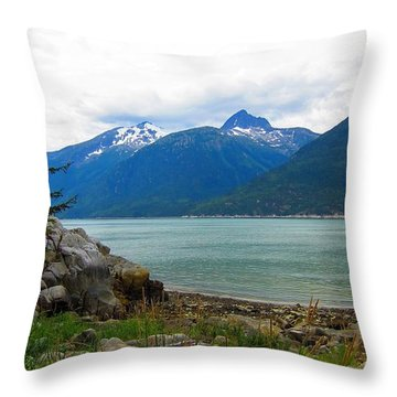 Smugglers Cove Throw Pillow