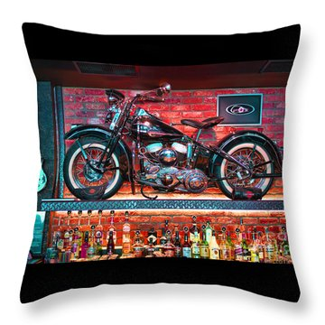 Snackbar Throw Pillow by Graham Hawcroft pixsellpix