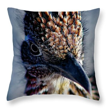 Snake Killer Throw Pillow
