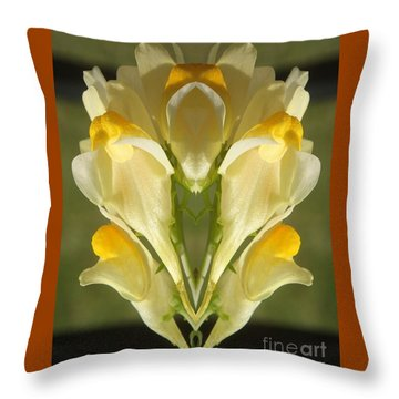 Snappy Bouquet Throw Pillow