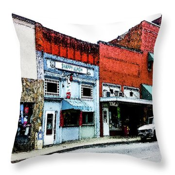 Snappy Lunch Throw Pillow