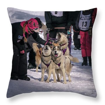 Sndd-1502 Throw Pillow by Jan Davies