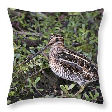 Snipe Hunt Throw Pillow