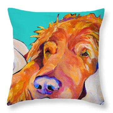 Snoozer King Throw Pillow