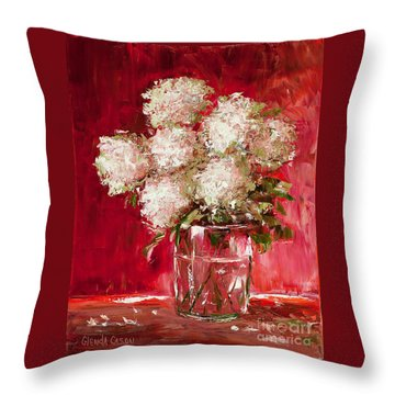 Snow Balls Throw Pillow