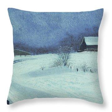 Snow Bound Throw Pillow