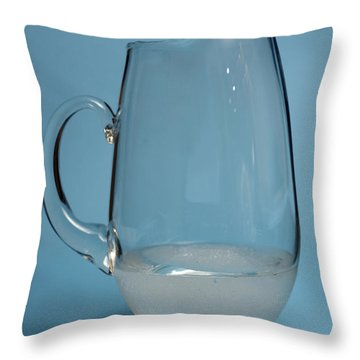 Snow Melting 6 Of 7 Throw Pillow