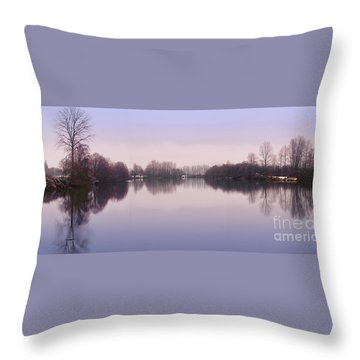 Snow On Snohomish Mug Throw Pillow