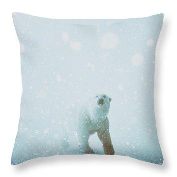 Snow Patrol Throw Pillow