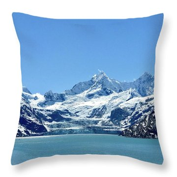Snow Slide Throw Pillow