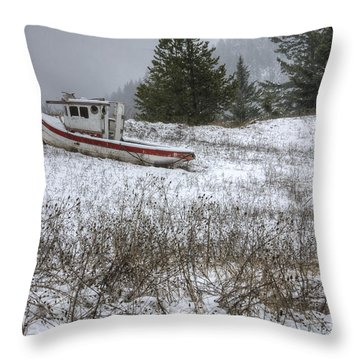 Snowbound Throw Pillow