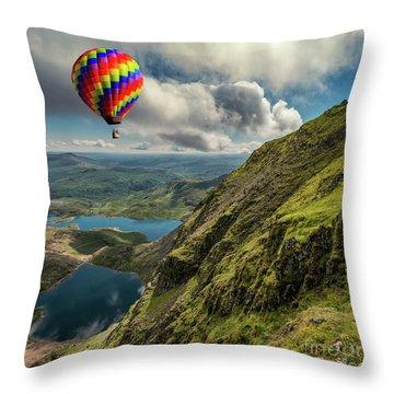 Glaslyn Throw Pillows