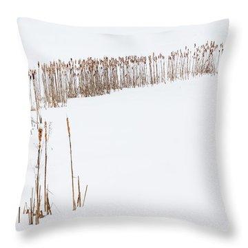 Snowfield 2 - Throw Pillow