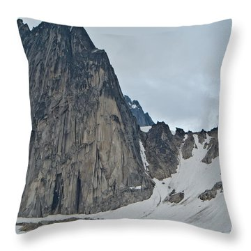 Snowpatch Col Throw Pillow