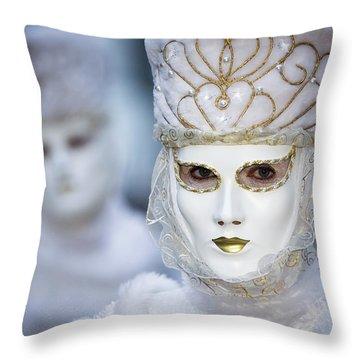 Snowqueen II Throw Pillow