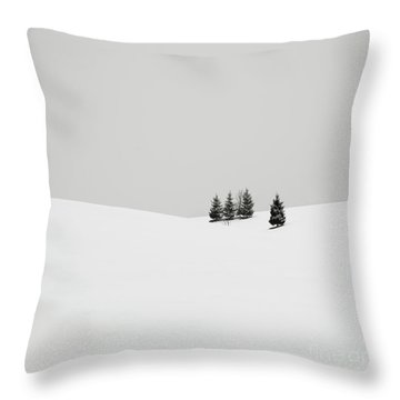 Snowscapes   Almost There Throw Pillow