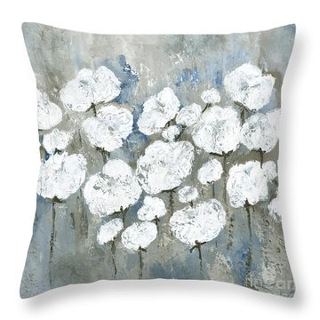 Snowy Mississippi Summer Throw Pillow by Kirsten Reed