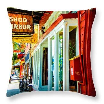Snug Harbor Jazz Bistro- Nola Throw Pillow