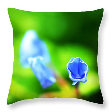 So Blue Throw Pillow