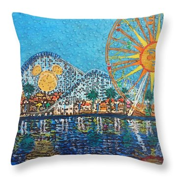 So Cal Adventure Throw Pillow