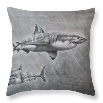So. Cal Game Fish Throw Pillow