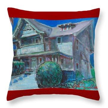 So Cal House Throw Pillow