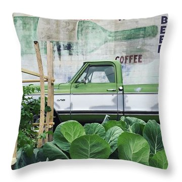 So Fresh. #minneapolis #beer #wine Throw Pillow by Heidi Hermes